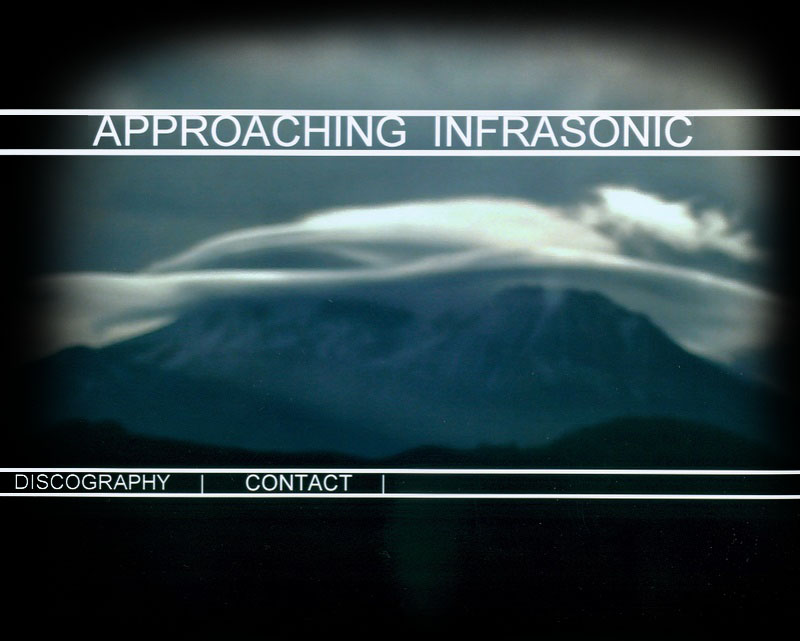 Approaching Infrasonic - Ambient and New Age Music